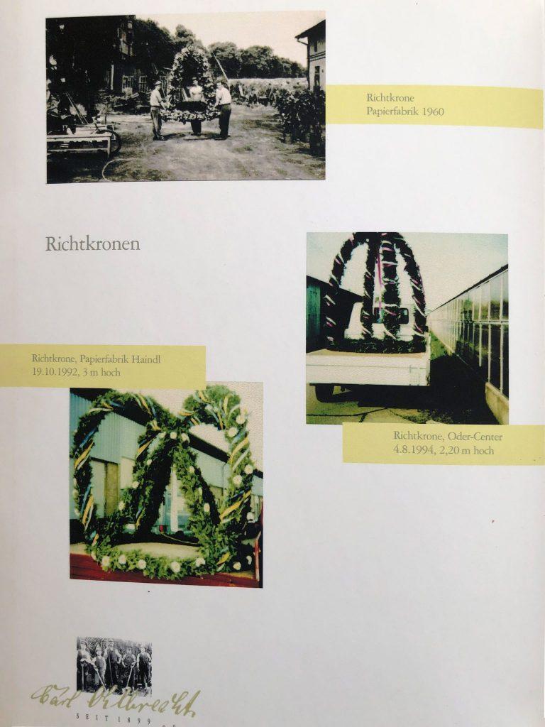Ohlbrecht´s Blumenland GmbH - Chronik
